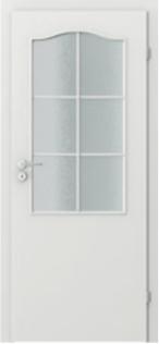 Dvere Porta Decor 2/3 sklo s rámom
