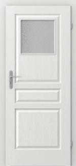 Interérové dvere Viedeň, malé okienko